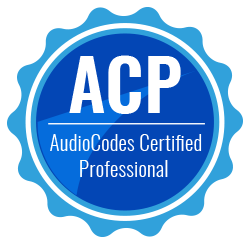 Audiocodes Certified Professional